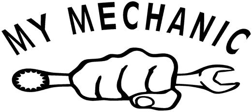 my mechanic cars logo