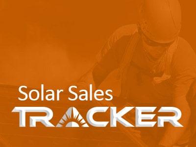 solar sales tracker