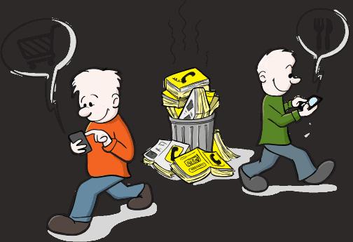phone books are dead use liquid target instead