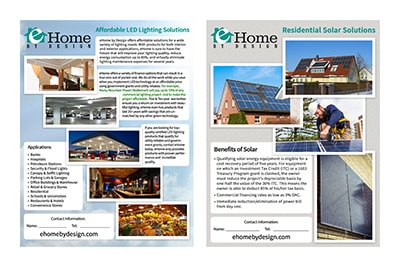 e-home flyer thumbnail
